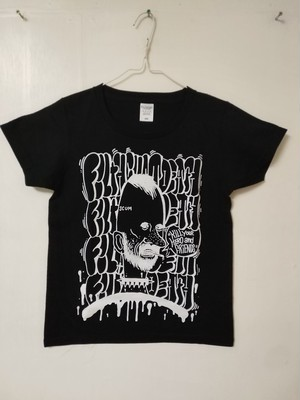 """FILTHCUMDEATH /""""KILL YOUR HERO AND FRIENDS"""" Ts size:WOMEN S/by SCUM BOY×ESPY"""