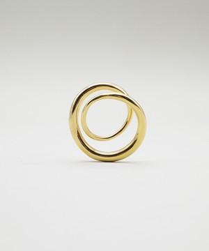 【ASAMI FUJIKAWA / アサミフジカワ】Ring / リング / K18 Plated /1702010