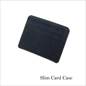 VEGAN CARD CASE  BLUE / カードケース 青 コルク製