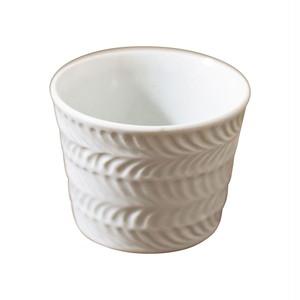 波佐見焼 翔芳窯 ローズマリー マルチカップ 約8cm 200ml マットホワイト 33413