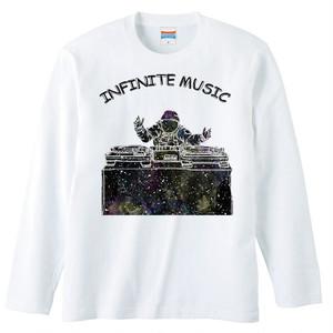 [ロングスリーブTシャツ] Infinite music