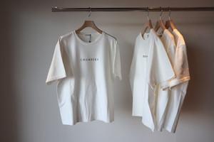 『LENO』Printed T-Shirt / CHAMBERS