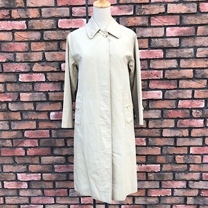 1990s Burberrys' Balmacaan Women's Coat Made In England