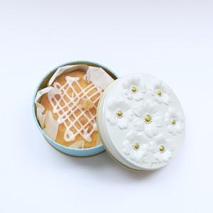 【ブーケ缶入り】レモンケーキ