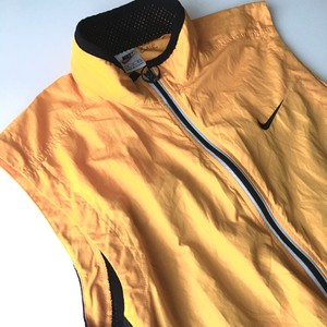 NIKE : 90's high visibility vest (used)