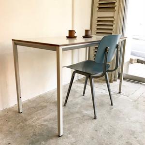 """Friso Kramer"" Facet Table Ahrend De Cirkel 1960's Chrome/Dutch Grey オランダ"
