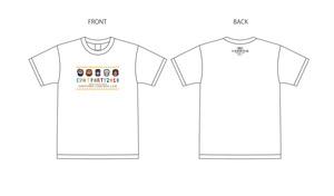 期間限定販売!  9/30迄! EVA T PARTY 2018 in SAPPORO限定 ドットTシャツ -キービジュアル-