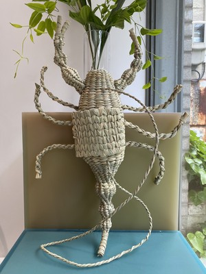 Mexico handmade scorpion straw  bag
