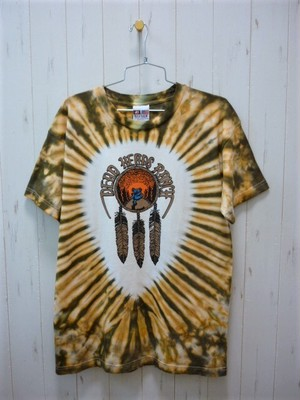 """Dead Heads Ranch"" S/S Tie Dye T-Shirt  6.5oz. (デッドヘッズランチ タイダイT-シャツ 6.5オンス ) Made In USA"