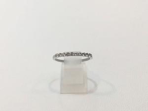Pt900 ハートアンドキューピッド ダイヤモンドリング 0.2ct