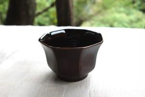 【完売御礼!】日本酒好きのための八角盃 銀溜塗