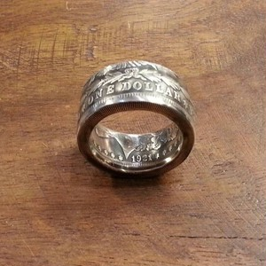 MORGAN DOLLAR  STRAIGHT  RING