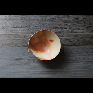 """美しい造形の和モダン 陶芸作家【大江一人】""""Shizuku""""  Bowl 中鉢 16cm"""