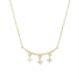 K10 ダイヤモンド ネックレス