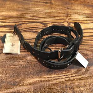Studs Leather Strap / Black