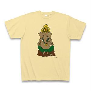 ガネーシャTシャツ・イエロー