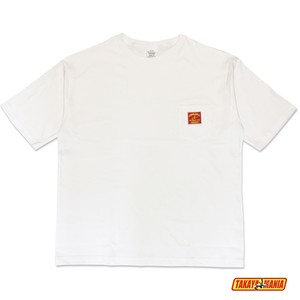 TM-PO2003 TAKAYAMANIA BIG POCKET Tシャツ WHITE