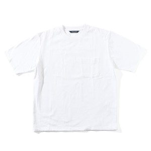 LIVING CONCEPT BASIC POCKET T-SHIRT [ WHITE ]