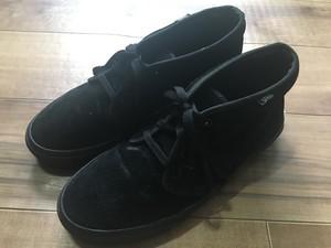 VANS バンズ スエード チャッカブーツ 黒 ブラック US9 27cm