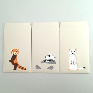 ユニーク紙雑貨 切り絵のぽち袋 動物園