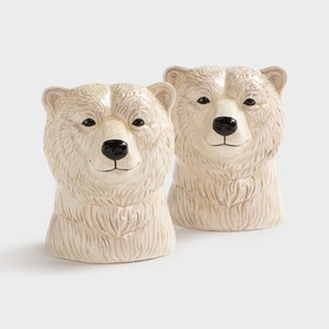 Salt & pepper polar bear
