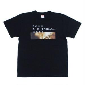 """TOUR """"DEAR & KEEP THE FLAME"""" T-shirt Black"""