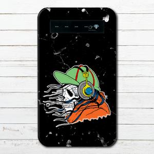 #000-032 モバイルバッテリー おすすめ iPhone Android かわいい おしゃれ 男性 向け 安い セール スマホ 充電器 タイトル:ノーライフでも音楽