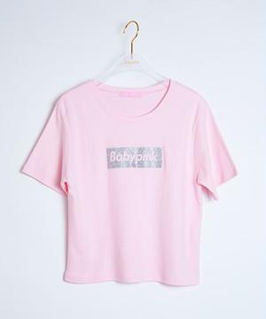 Box Logo S/S Tee Pink