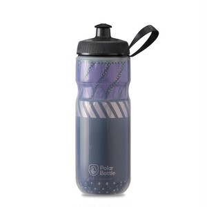 POLAR BOTTLE / Tempo 20oz / Charcoal/Pink