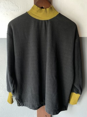 vintage hungary mock neck sweat