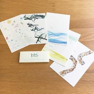 Post card [verdelite A set] 5種セット