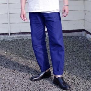 Euro Work Pants / HBT Ink Blue / ユーロ ワークパンツ ヘリンボーン / インクブルー