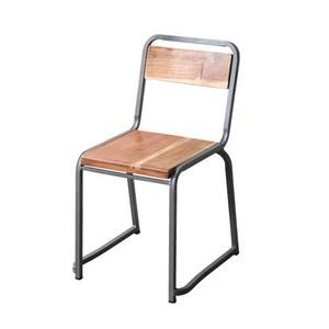 【G549-536A】Bunbury chair チェア / 天然木 / アイアン / ナチュラル