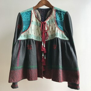 "Hand Embroidered Jacket ""Shahla"""