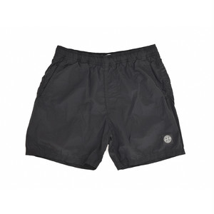 Stone Island Nylon Metal Shorts (Medium Type) Black 7015B0943