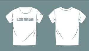 「LEG DRAG」Tシャツ