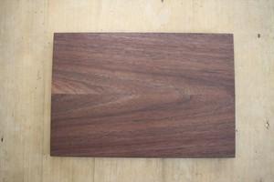 松下由典|木のトレイ(お膳サイズ) ウォルナット材