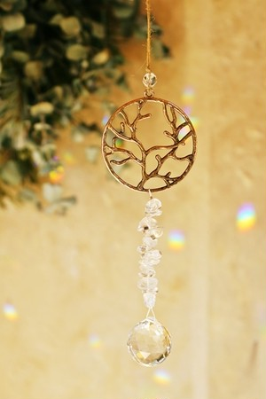 amulet -siver tree-  --〇&♡--