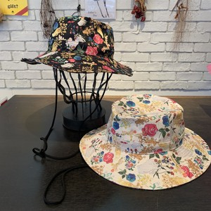 【CA4LA】20 A GOLD BOOK BY ANDY WARHOL PATTERN SAFARI HAT  サファリハット      CAW00487
