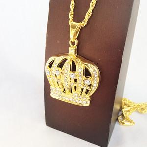 ブリンブリン 王冠 クラウン GOLD ゴールド 金 ネックレス ヒップホップ HIPHOP 745