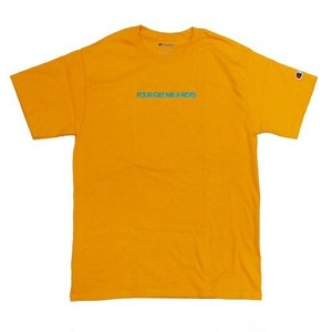 """Initial logo"" T-shirt Gold"