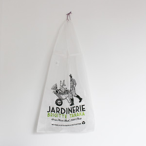 BRIGITTE TANAKA - ORGANZA BAG - JARDINERIE