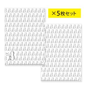 いとうちゃん モザイククリアファイル(5枚セット)