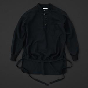 エンゲイシャツ 黒×黒
