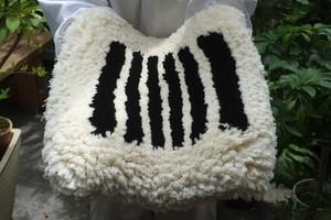 ◆【ノッティング・手織りの椅子敷き】◆(大) ◆NEW!   #20210604