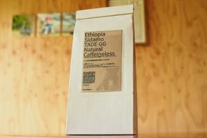 ☆カフェインレス☆ エチオピア タデGG農園 G-1 ナチュラル<200g>