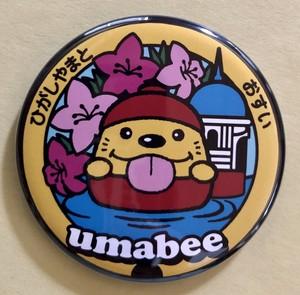 【バッチ】東京都 東大和市 Umabeeうまべぇ【A】