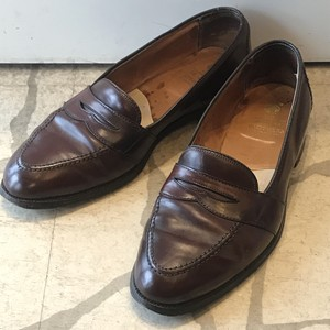 ALDEN×BROOKS BROTHERS LEATHER SHOES