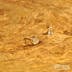 """Earring """"LOGO"""" / Silver 925"""