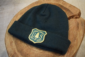 USED US FOREST SERVICE Knit cap made in USA G0313